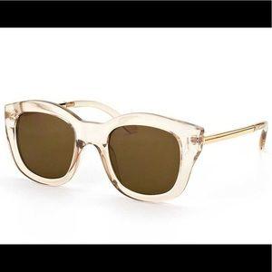 Lespecs Clear Sunglasses